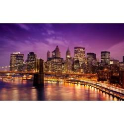 FOTOTAPET NEW YORK CITY PÅ NATTEN