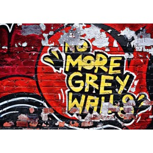 FOTOTAPET NO MORE GREY WALLS