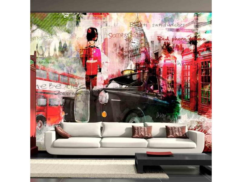 FOTOTAPET LONDONS GATOR