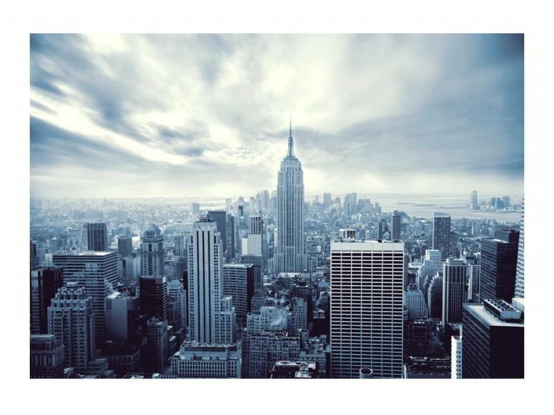 FOTOTAPET EN BLÅ NEW YORK