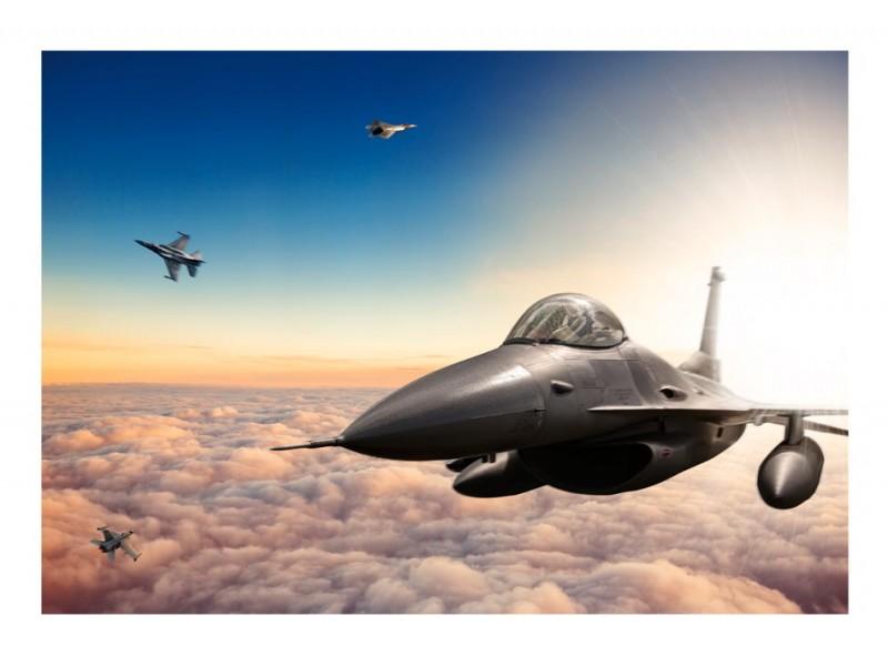 FOTOTAPET F16 STRIDSFLYGPLAN