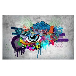 FOTOTAPET GRAFFITI EYE