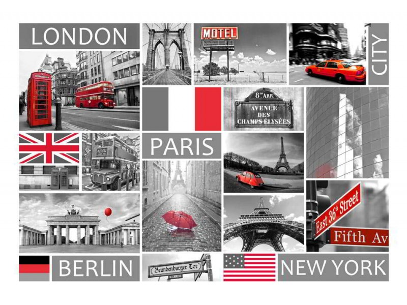 FOTOTAPET LONDON, PARIS, BERLIN, NEW YORK