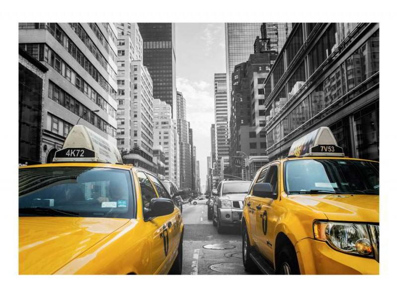FOTOTAPET NEW YORK TAXI