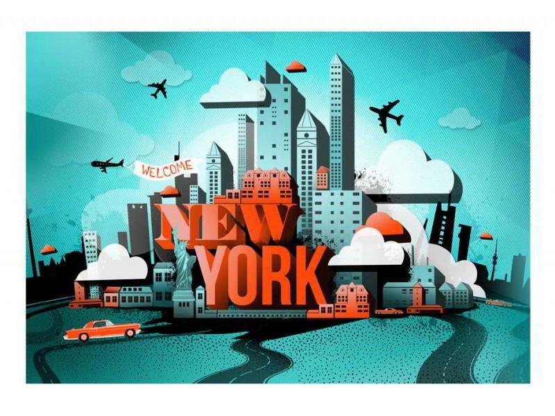 FOTOTAPET VÄLKOMMEN NEW YORK