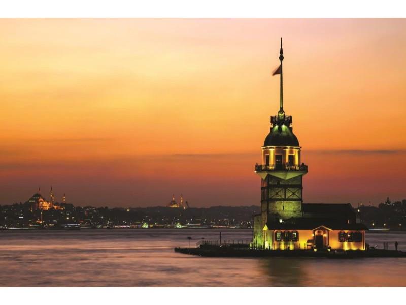 1067V8 - Fototapet Fyr i Istanbul