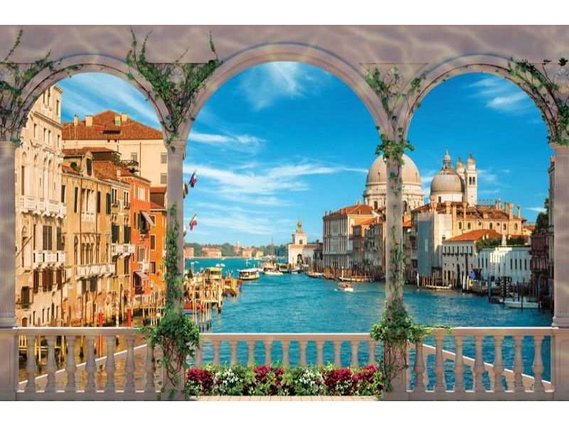 1072V8 - Fototapet Venedig