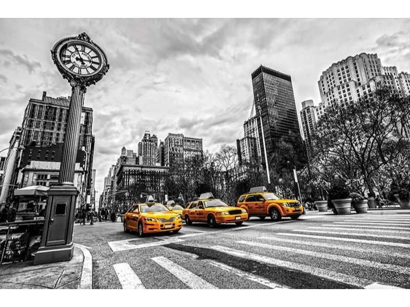 1171V8 - Fototapet Taxi
