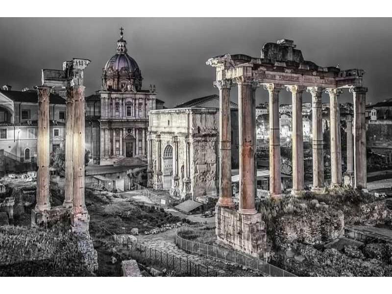 1334V8 - Fototapet Forum Romanum