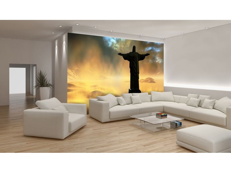 164V8 - Fototapet Jesus i Rio