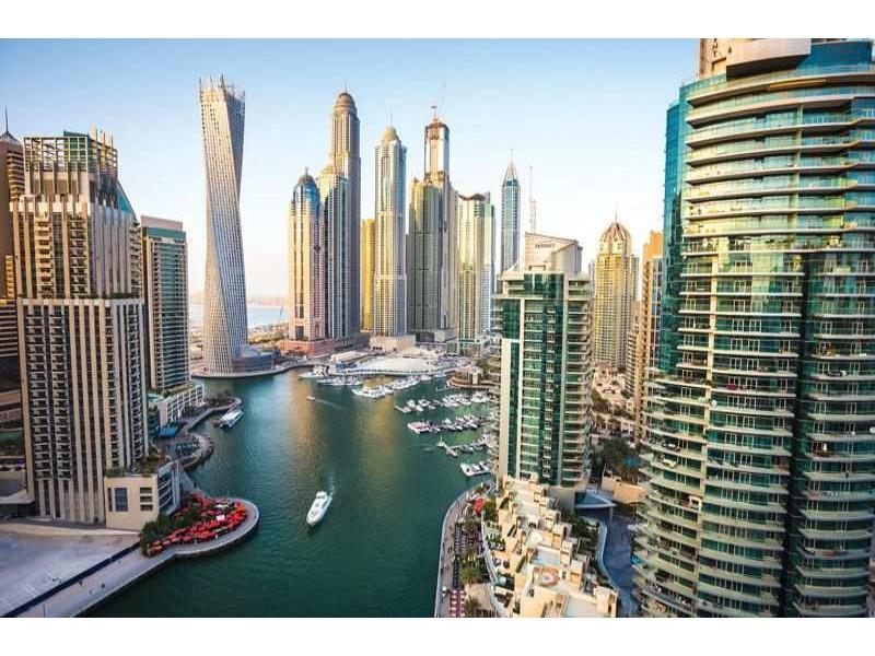 1673V8 - Fototapet Dubai