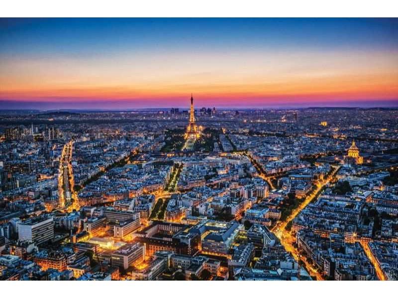 1907V8 - Fototapet Paris