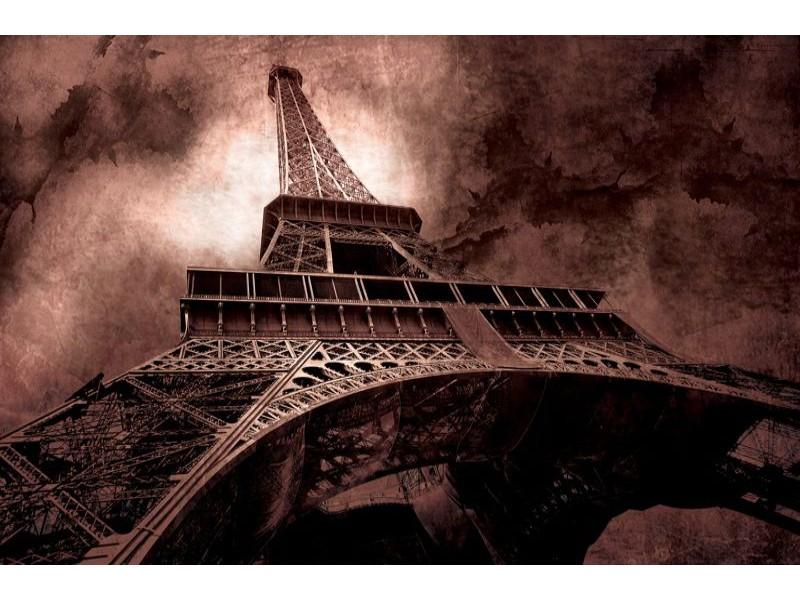 223V8 - Fototapet Paris Eiffeltornet