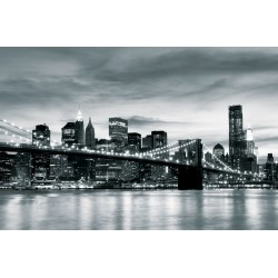 226V8 - Fototapet New York City och Brooklyn Bron