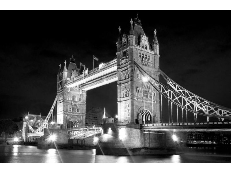 235V8 - Fototapet London Tower bron
