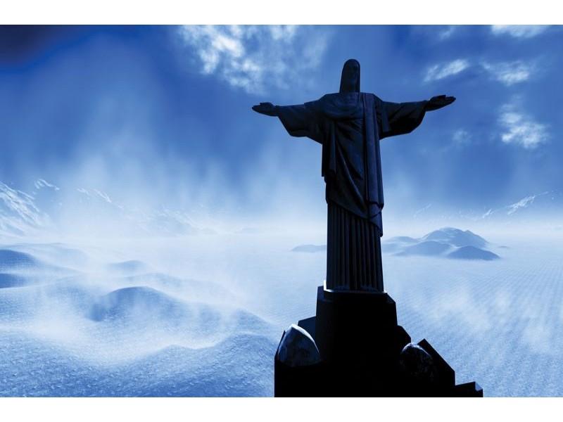 289V8 - Fototapet Rio Kristus Frälsare