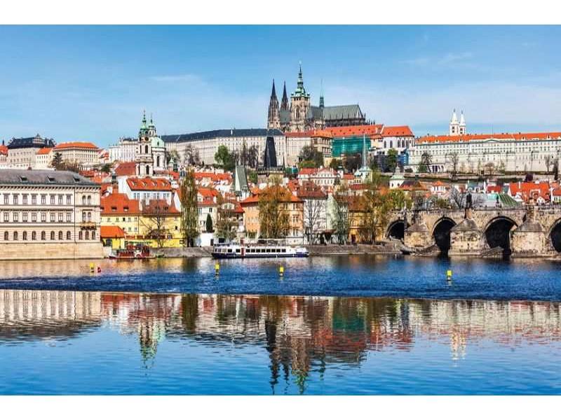 3249V8 - Fototapet Prag