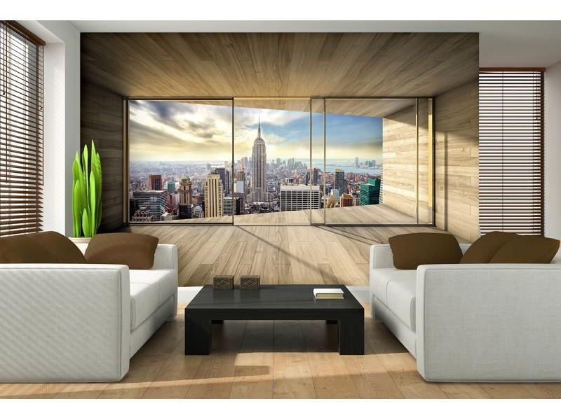 3306V8 - Fototapet New York Panorama View