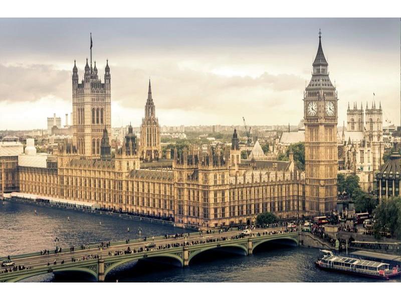 3401V8 - Fototapet Westminster London
