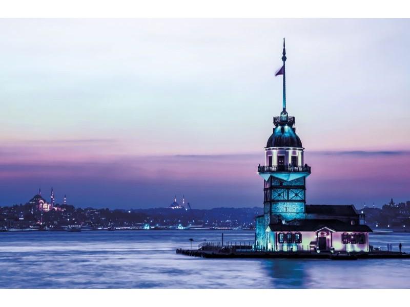 3429V8 - Fototapet Jungfrutornet Istanbul