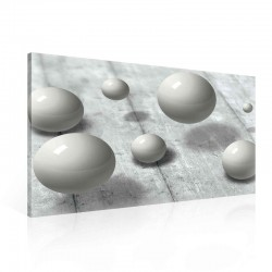 Spheres Grey Canvastavla (PP2406O1)