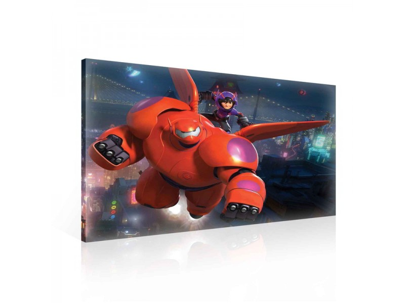 Canvastavla Big Hero 6 Baymax Hiro (PPD1012O1)
