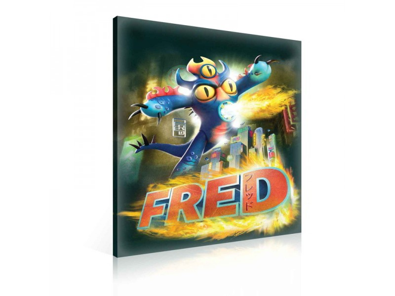 Canvastavla Big Hero 6 Fred  (PPD1018O1)