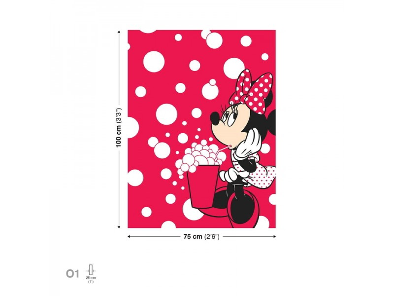 Canvastavla Disney Minnie Mouse (PPD1432O1)