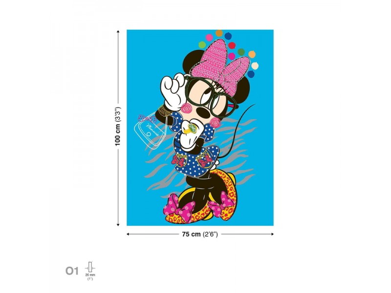 Canvastavla Disney Minnie Mouse (PPD1436O1)