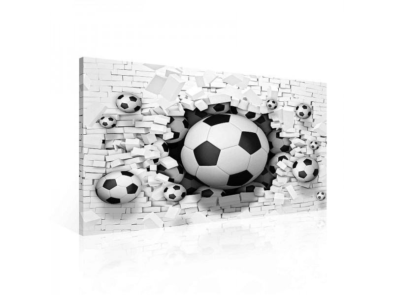 Football Demolition Canvastavla (PP2278O1)