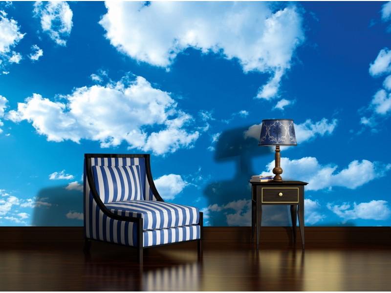 1992V8 - Fototapet  himmel och molnen
