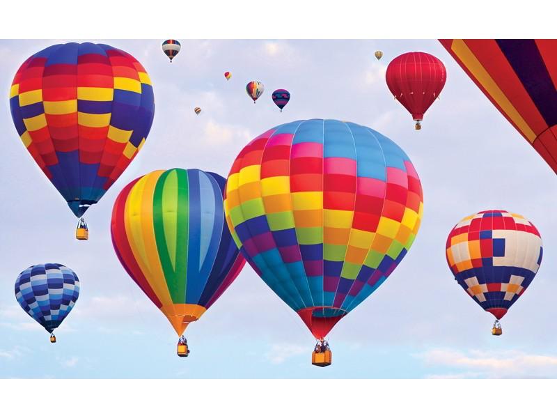 695V8 - Fototapet färgglada luftballonger