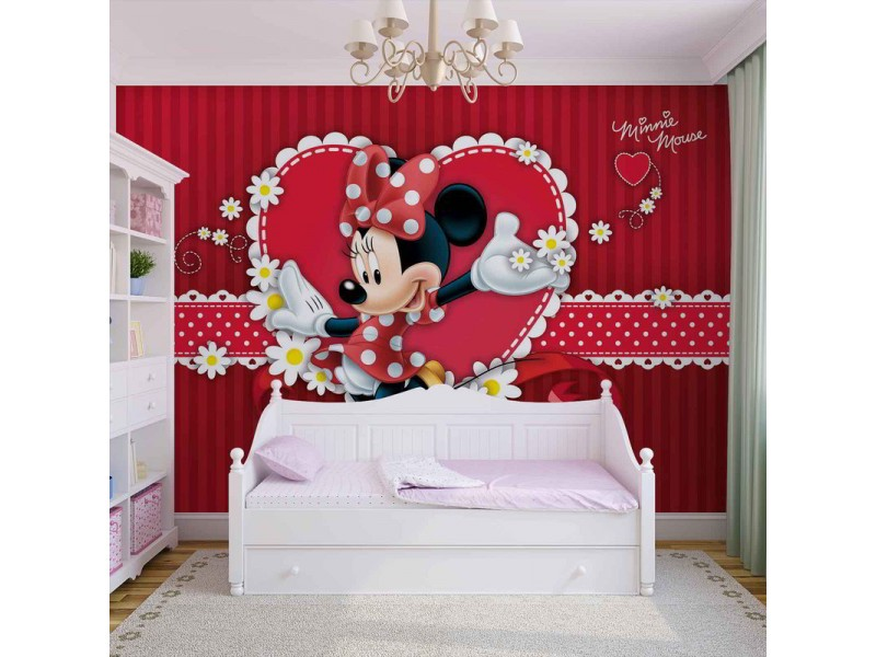 4-015WM - Fototapet DISNEY MINNIE MOUSE