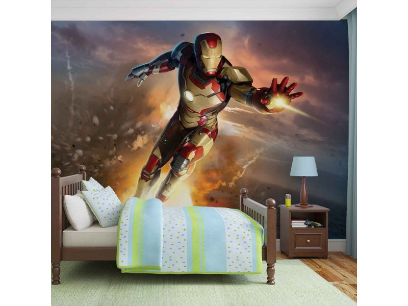 463WM - Fototapet IRON MAN MARVEL AVENGERS