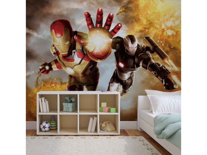 464WM - Fototapet IRON MAN MARVEL AVENGERS