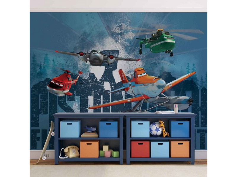 1541WM - Fototapet DISNEY PLANES DUSTY BLADE WINDLIFTER