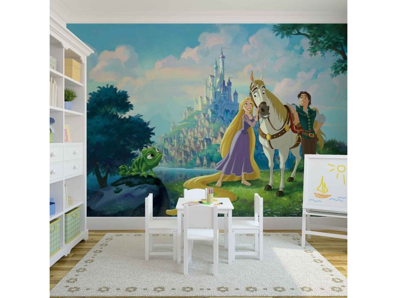 2412WM - Fototapet DISNEY PRINCESSES RAPUNZEL