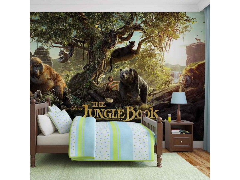 3535WM - Fototapet THE JUNGLE BOOK