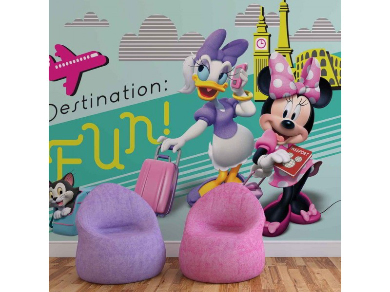 1676WM - Fototapet DISNEY MINNIE MOUSE