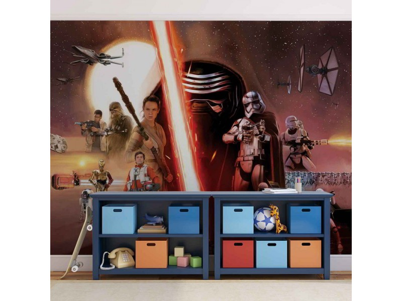 2737WM - Fototapet STAR WARS FORCE AWAKENS