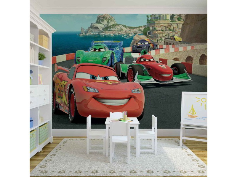 320WM - Fototapet DISNEY CARS LIGHTNING MCQUEEN BERNOULLI