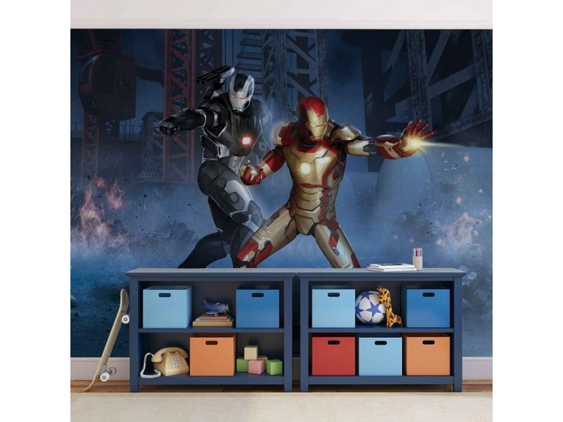 465WM - Fototapet IRON MAN MARVEL AVENGERS
