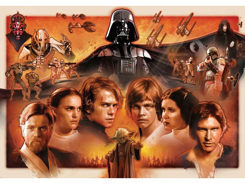 1591WM - Fototapet STAR WARS FORCE AWAKENS