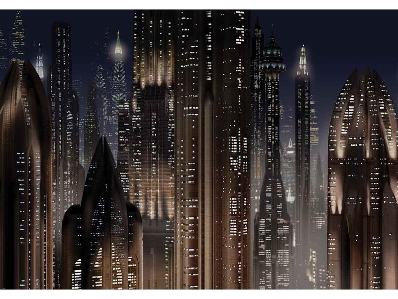 1695WM - Fototapet STAR WARS CITY