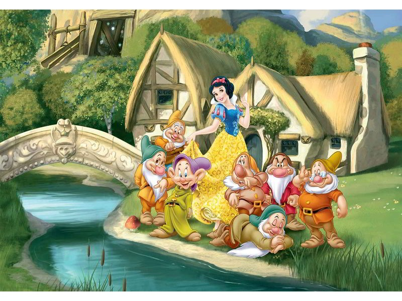 596WM - Fototapet DISNEY PRINCESSES SNOW WHITE