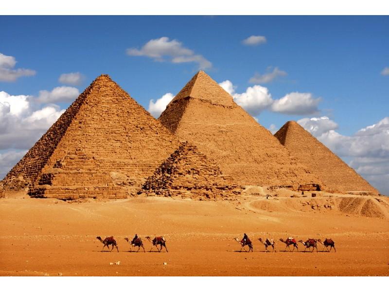FOTOTAPET EASY UP EGYPT PYRAMID
