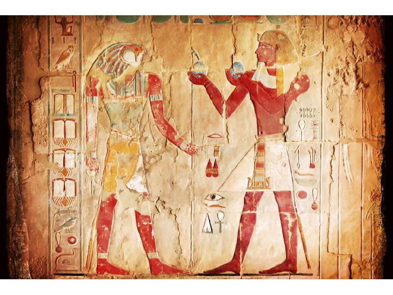 FOTOTAPET EASY UP EGYPT PAINTING