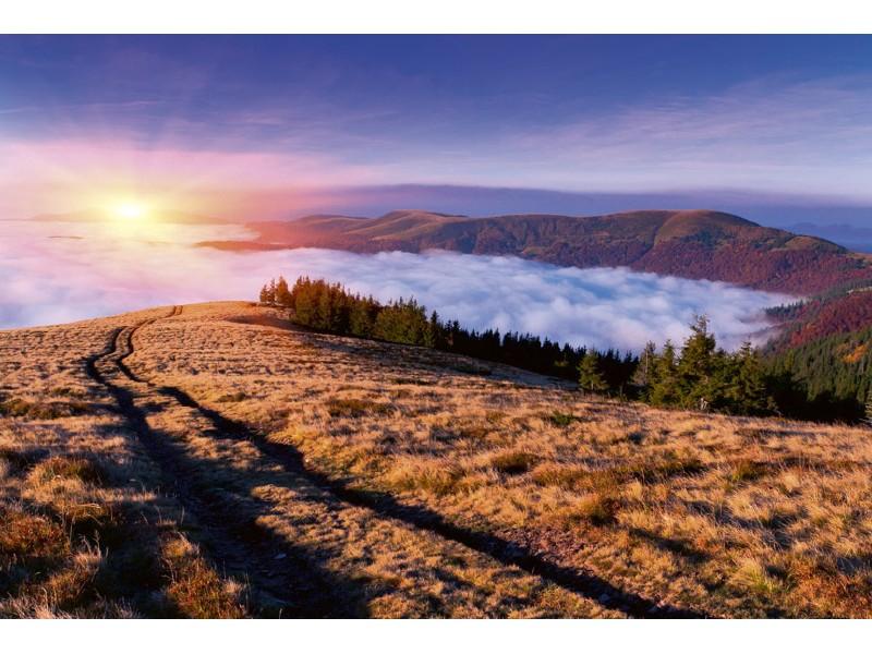 FOTOTAPET EASY UP SUNRISE IN MOUNTAINS