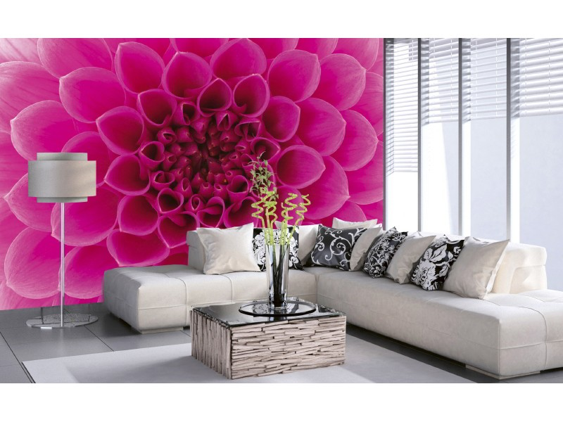 FOTOTAPET EASY UP PINK DAHLIA