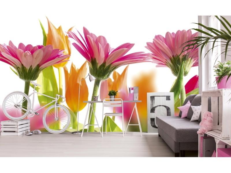 FOTOTAPET EASY UP SPRING FLOWERS